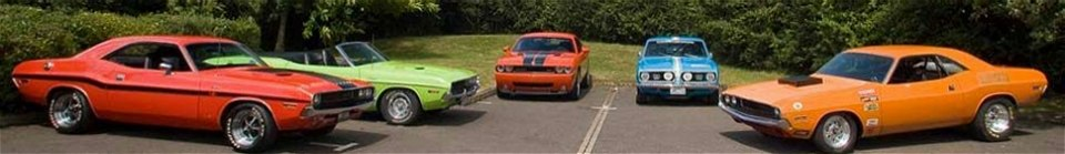 Muscle Cars Web header image